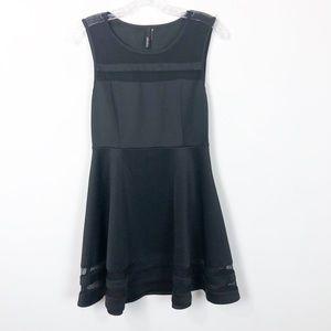 LULUS FINAL STRETCH BLACK DRESS